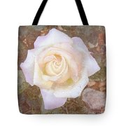 Dewy Dawn Peace Rose Tote Bag