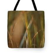 Dewy Grasses Tote Bag