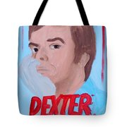 Dexter With Hand Tote Bag