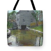 Dexter's Grist Mill - Cape Cod Tote Bag