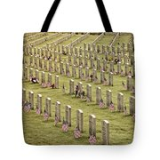 Dfw National Cemetery II Tote Bag