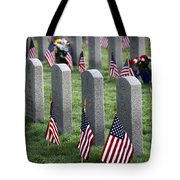 Dfw National Cemetery Tote Bag