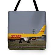 Dhl Airbus A300 Tote Bag