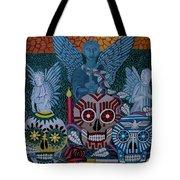 Dia De Los Muertos Tote Bag by Anthony Morris