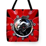 Diablo Wheel Hub Tote Bag