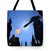 Diagon Alley Dragon Fire Tote Bag