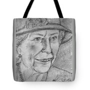 Diamond Jubilee Queen  Tote Bag