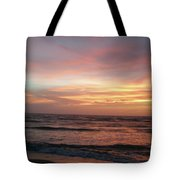 Diamond Shoals Sunset - Outer Banks Nc Tote Bag