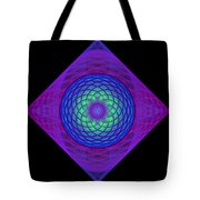 Diamond Swirl Tote Bag by Sandy Keeton
