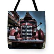 Diamond T Vintage Truck Art Tote Bag