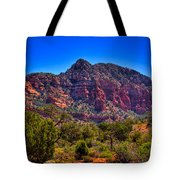 Diamondback Gulch Near Sedona Arizona Viii Tote Bag