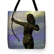 Diana-goddess Of The Hunt On B Street Tote Bag