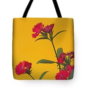 Dianthus At The Door Tote Bag