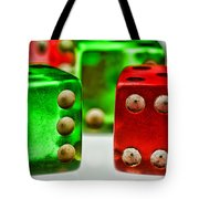 Dice - Boxcars Tote Bag