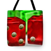 Dice - Lucky Seven Tote Bag