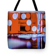 Dice Reflections Tote Bag
