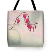 Dicentra In A Glass Vase 2 Tote Bag