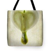 Dicentra Spectabilis Alba Tote Bag