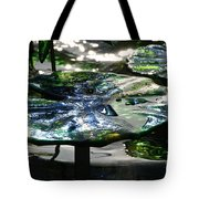 Dichromic Lily Pad Tote Bag