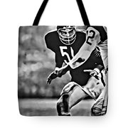 Dick Butkus Tote Bag
