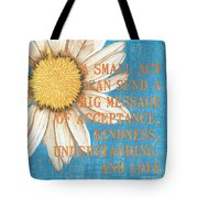 Dictionary Florals 4 Tote Bag