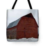 Dictionary's Red Barn Tote Bag