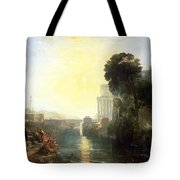 Dido Building Carthage Tote Bag