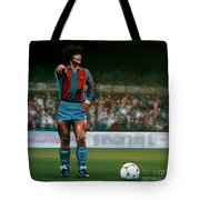 Diego Maradona Tote Bag