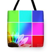 Diffraction Of Light Tote Bag