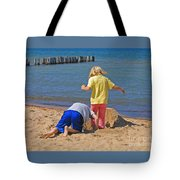 Digging Deep Tote Bag