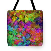 Digiral Abstract Colors Rich Tote Bag