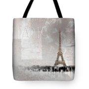 Digital-art Eiffel Tower II Tote Bag