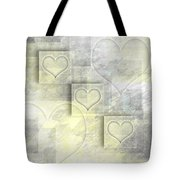 Digital-art Hearts II Tote Bag