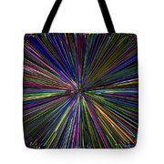 Digital Infinity Abstract Tote Bag