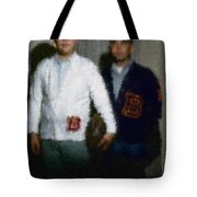 Digital Painting The Lettermen Tote Bag