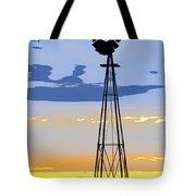 Digital Windmill-vertical Tote Bag