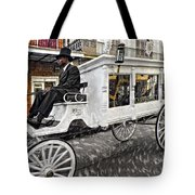 Dignified Departure Paint 2 Tote Bag