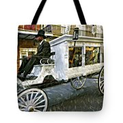Dignified Departure Paint Tote Bag