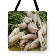 Dikon Radishes Tote Bag