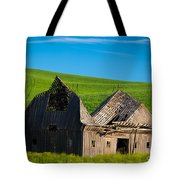 Dilapidated Barn Tote Bag