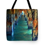 Dilapidated Dock Tote Bag