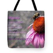 Diligence Tote Bag