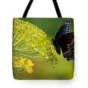 Dill And The Butterfly Tote Bag