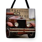 Dillon Montana Vintage Fire Truck Tote Bag