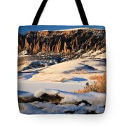 Dillon Pinnacles Sunset Tote Bag