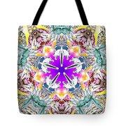 Dimensional Birth Tote Bag