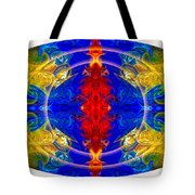 Dimensional Eyesight Abstract Living Artwork By Omaste Witkowski Tote Bag