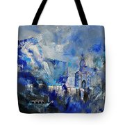 Dinant In Blue Tote Bag
