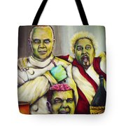 Diners Drive-ins And Fava Beans And Chianti Tote Bag
