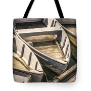 Dinghies Dockside Faded Tote Bag